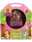 Simba Filly Sammelkoffer für 21 Fillys Koffer pink + 1 Filly Pferdchen NEU