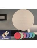 LED Reispapierleuchte Lampe Leuchte Standlampe mit Farbwechsel dimmbar NEU