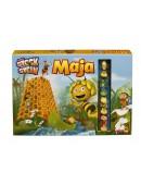 Biene Maja über Stock und Stein Brettspiel Kartenspiel 3D mit 4 Spielfiguren NEU