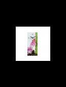 Wanduhr Orchideengarten Küchenuhr Uhr für Küche Wohnzimmer aus Glas Orchidee NEU